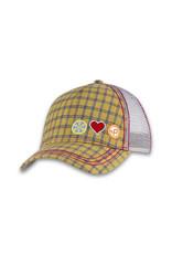 Pistil Stash Trucker Cap - Gold