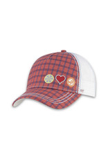 Pistil Stash Trucker Cap - Red