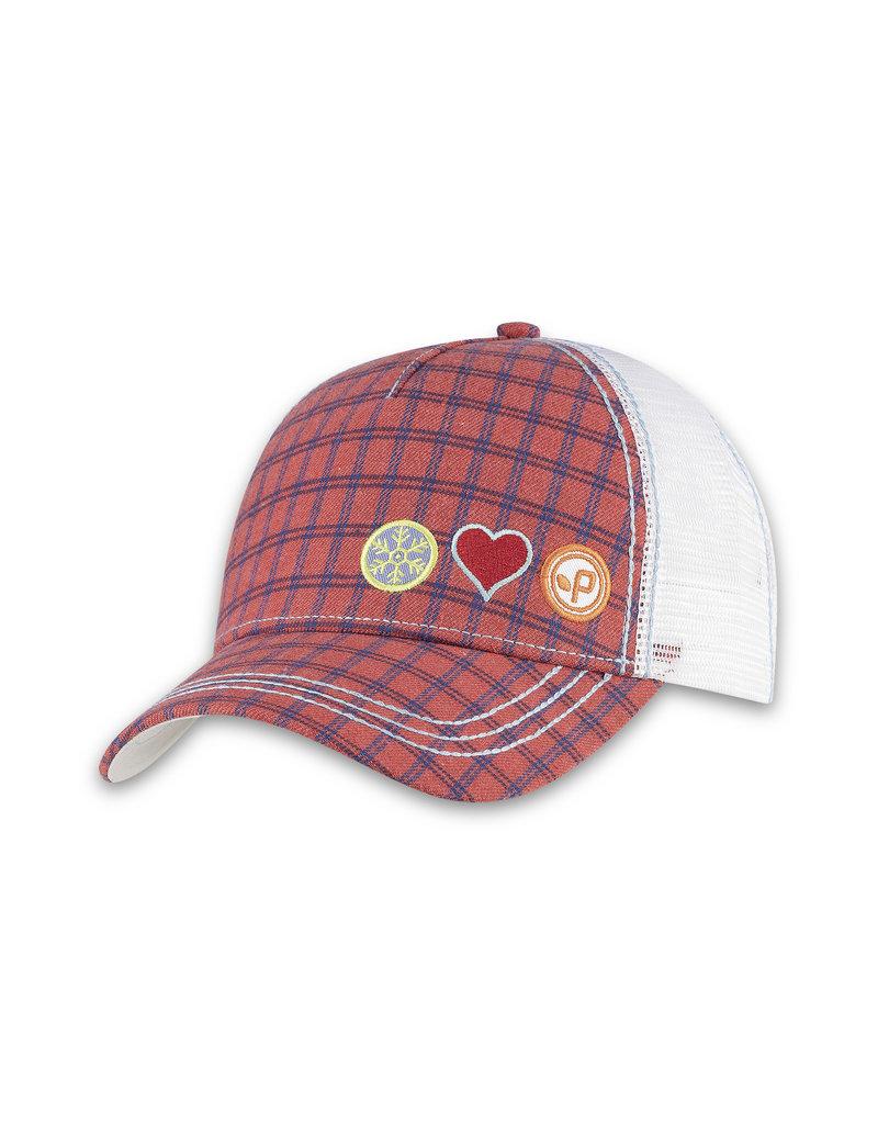 Pistil Stash Trucker Cap - Red