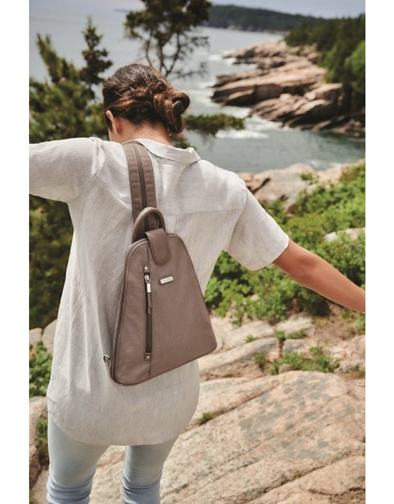 Baggallini Metro Backpack - Grape Jelly