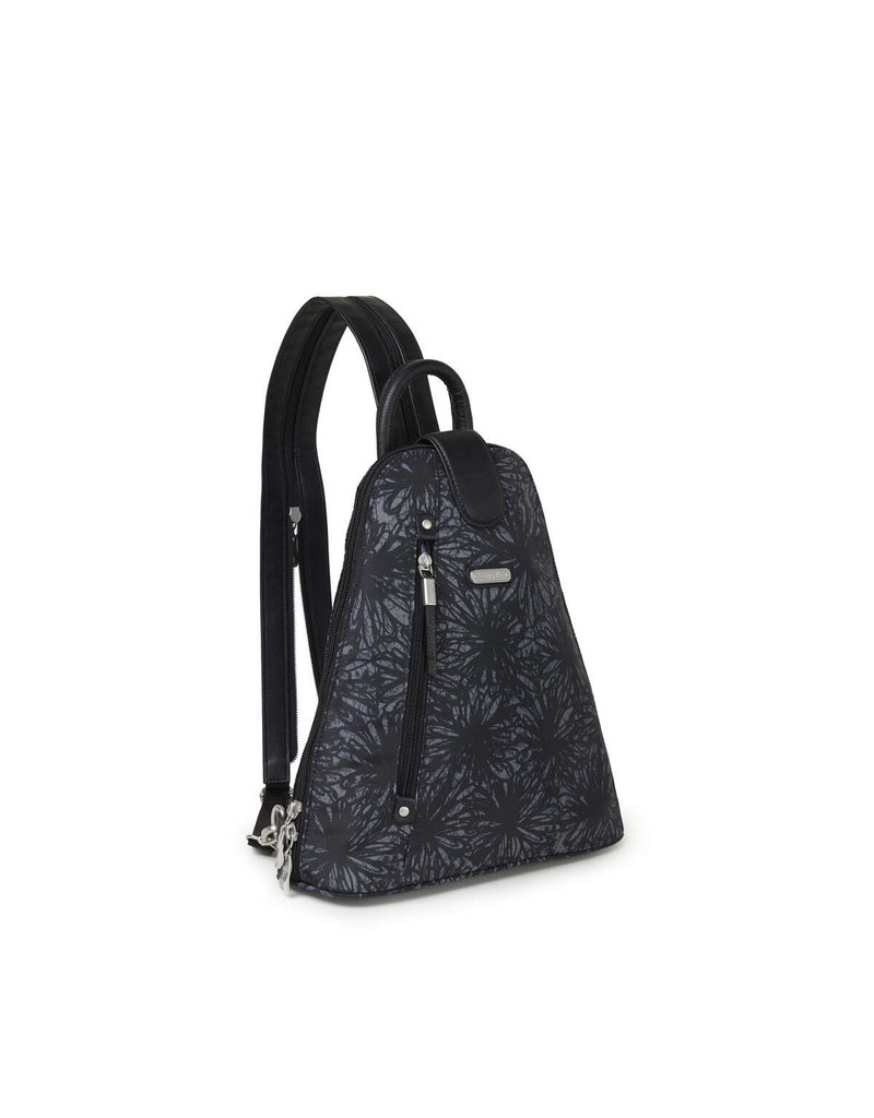 Baggallini Metro Backpack - Onyx Floral