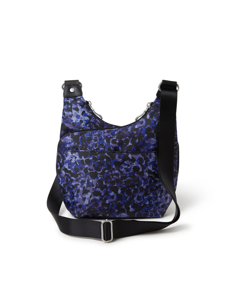 Baggallini RFID Cross City Bagg - Abstract Bloom