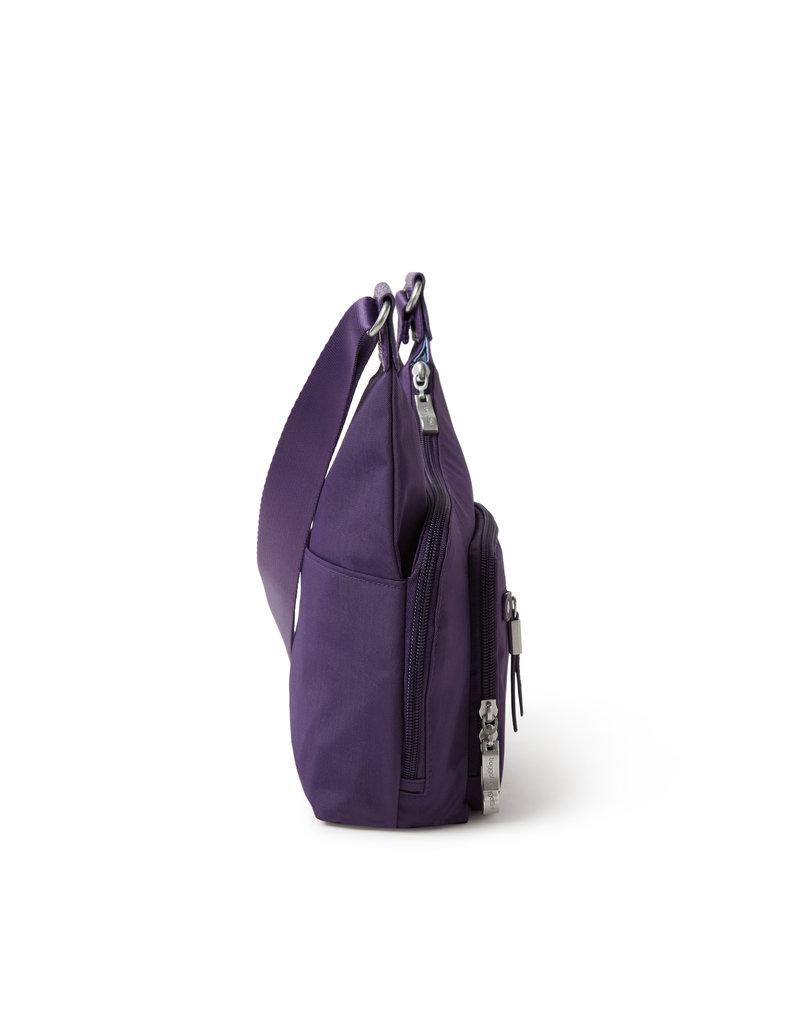 Baggallini RFID Cross City Bagg - Grape Jelly