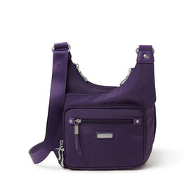 Baggallini RFID Cross City Bagg - Grape Jelly