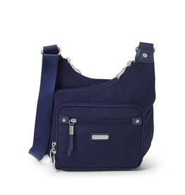 Baggallini RFID Cross City Bagg - Navy