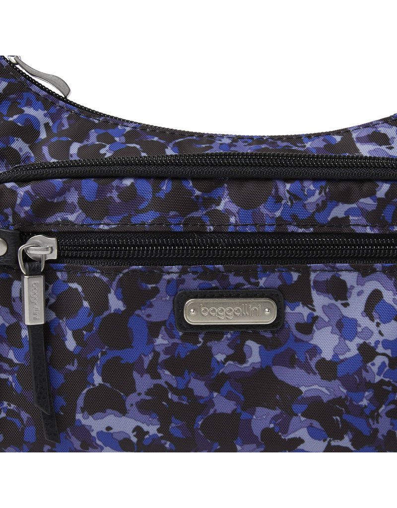 Baggallini RFID Everyday Traveler Bagg - Abstract Bloom