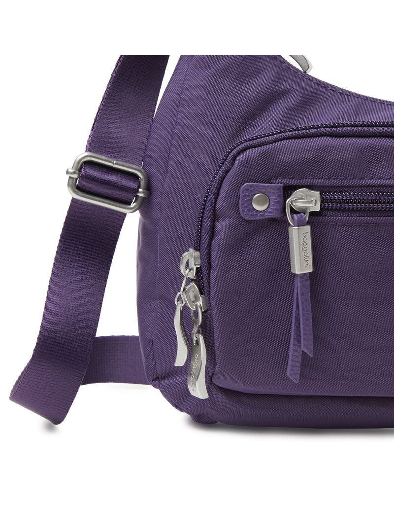 Baggallini RFID Everyday Traveler Bagg - Grape Jelly