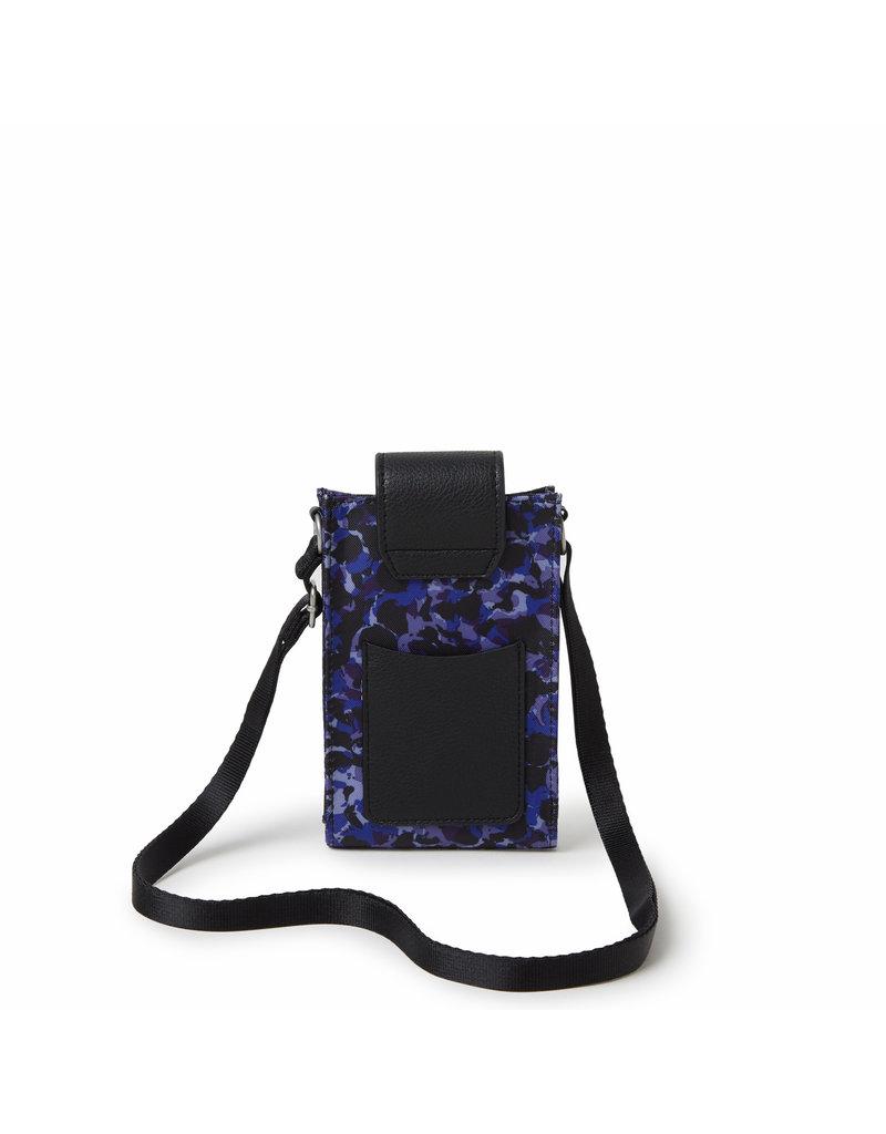 Baggallini RFID Phone Crossbody - Abstract Bloom