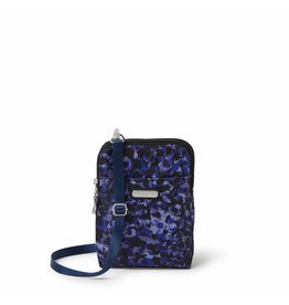 Baggallini Take Two RFID Bryant Crossbody - Abstract Bloom