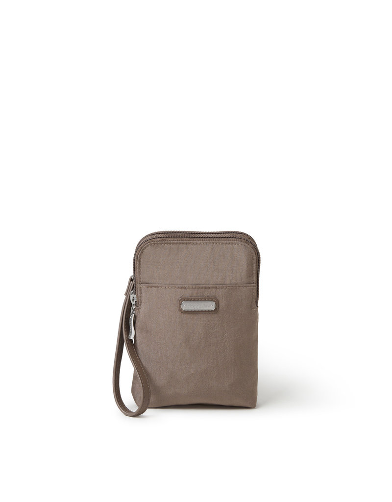 Baggallini Take Two RFID Bryant Crossbody - Portobello Shimmer