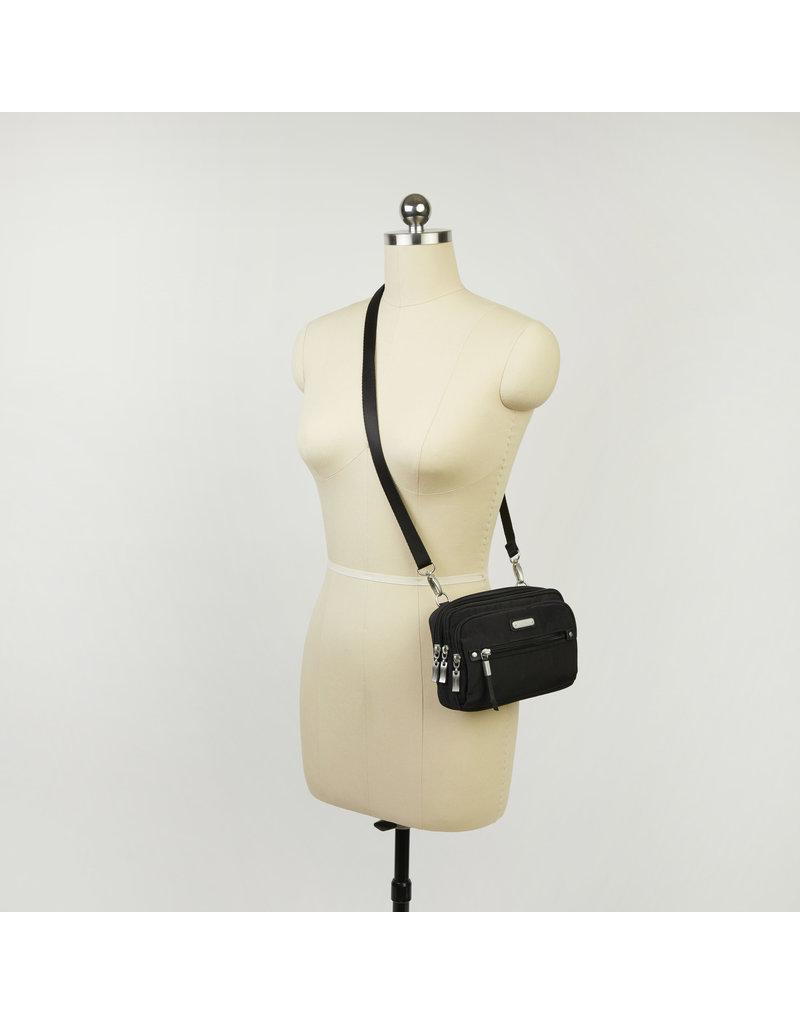 Baggallini Time Zone RFID Crossbody Bag - Black