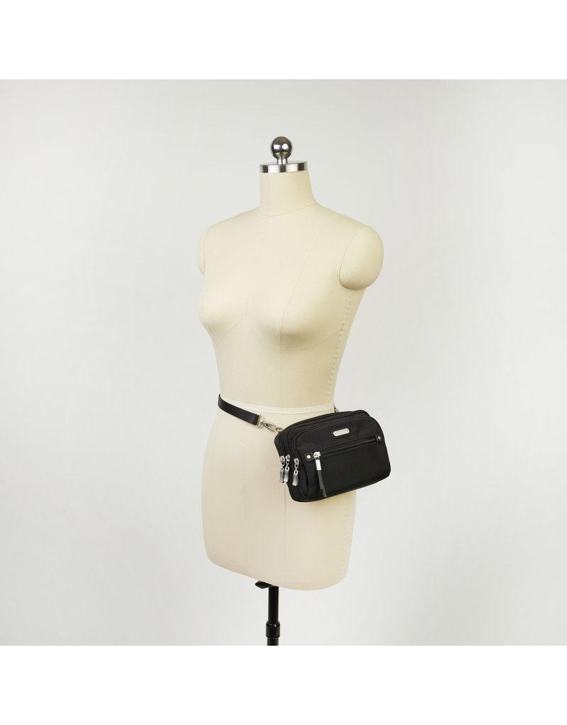 Baggallini Time Zone RFID Crossbody Bag - Navy