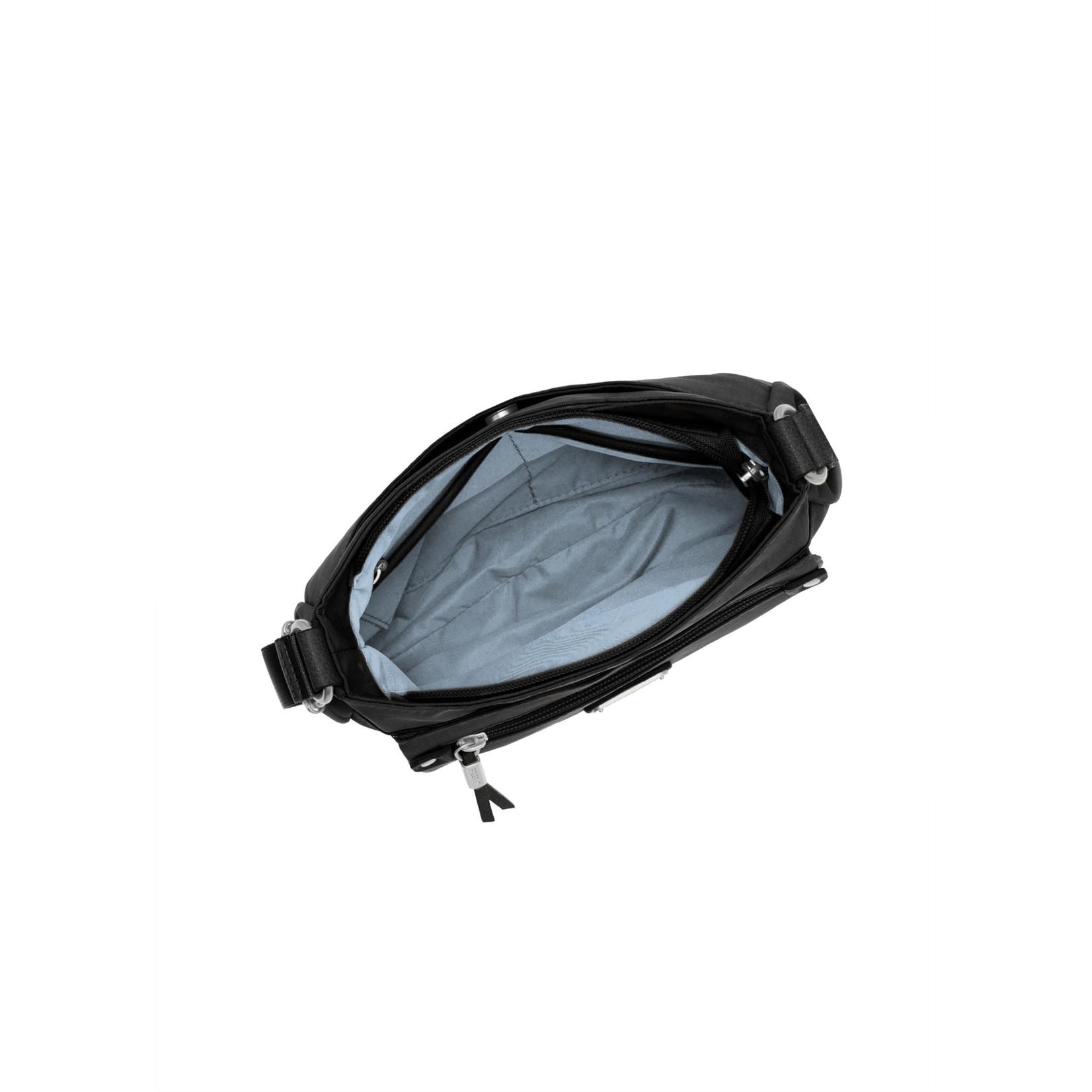 Baggallini Uptown Bagg with RFID Wristlet - Black