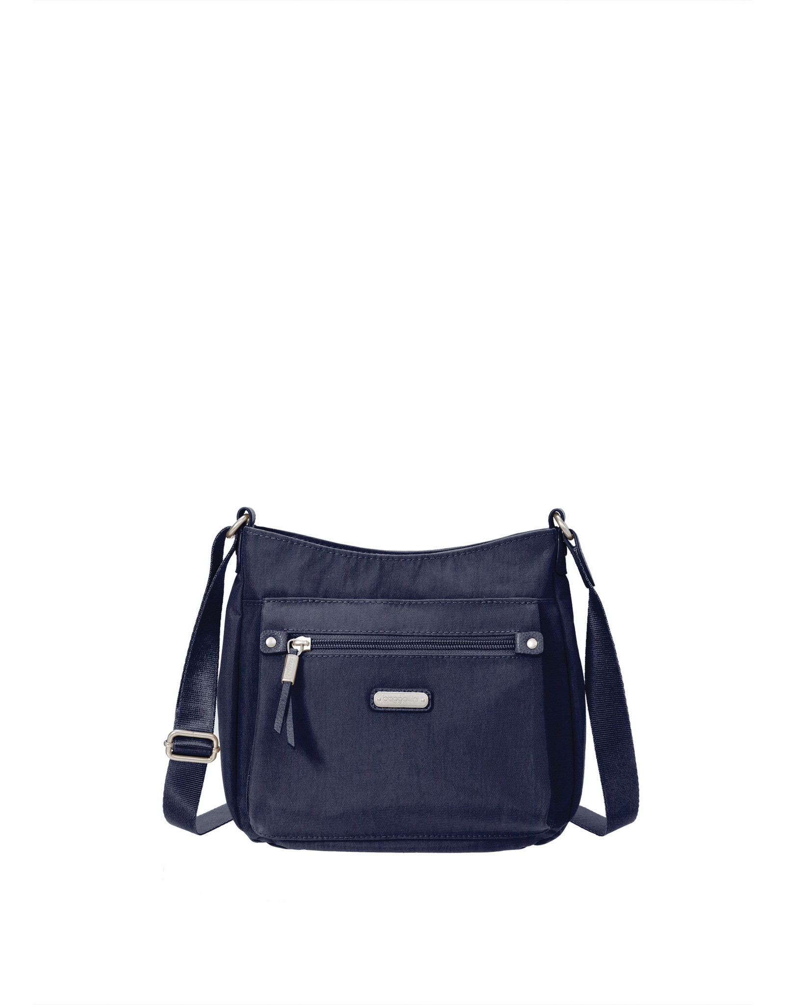 Baggallini Uptown Bagg with RFID Wristlet - Navy