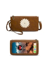 Save The Girls FV-1103RB Daisy Vertical - Rustic Brown