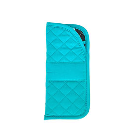 Stephanie Dawn Eyeglass Case - SD Signature - Teal