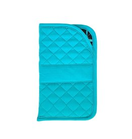 Stephanie Dawn Large Sunglass Case - SD Signature - Teal
