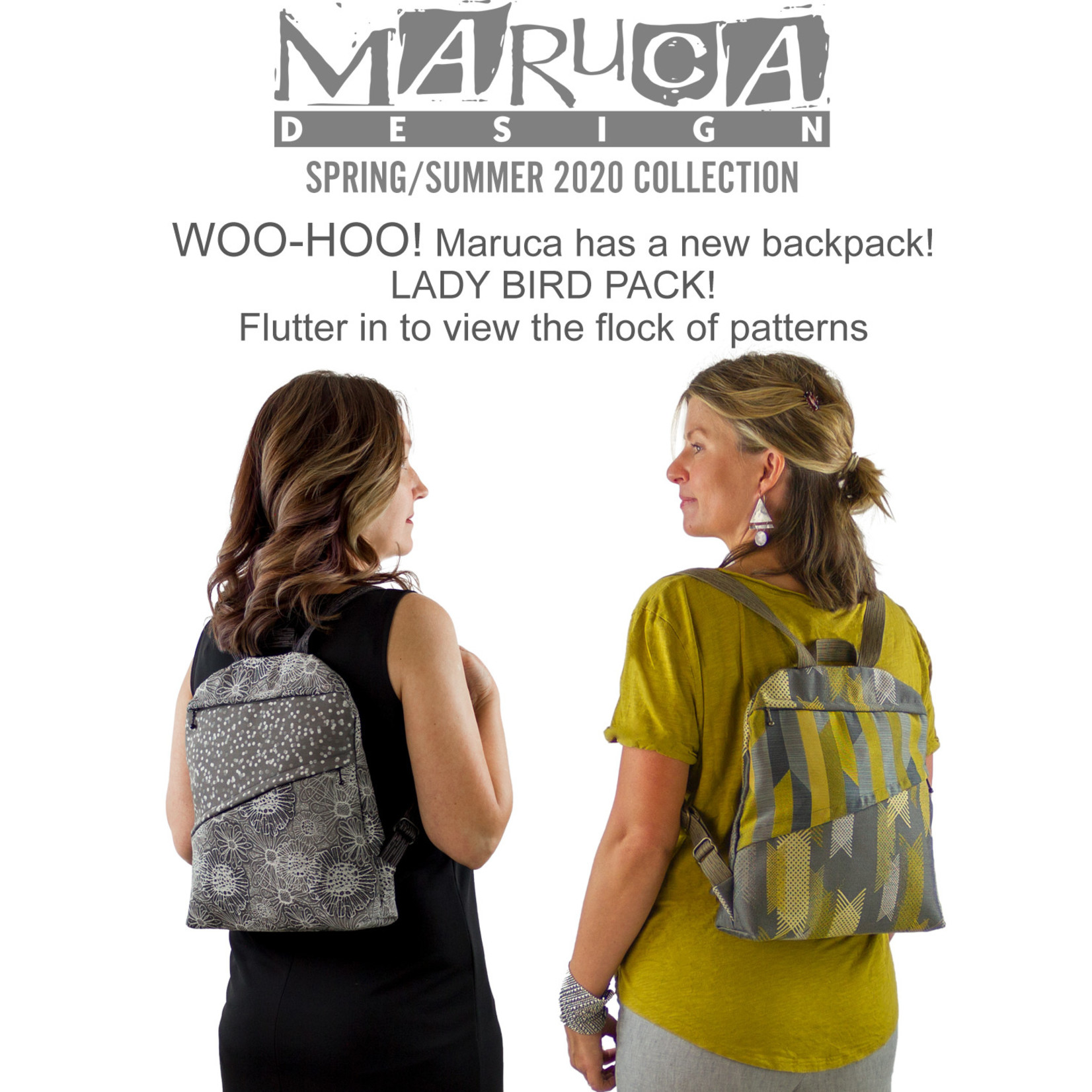 Maruca Lady Bird Pack SS20 Lattice Grey
