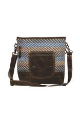 Myra Bags S-2002 Criss Cross Shoulder Bag