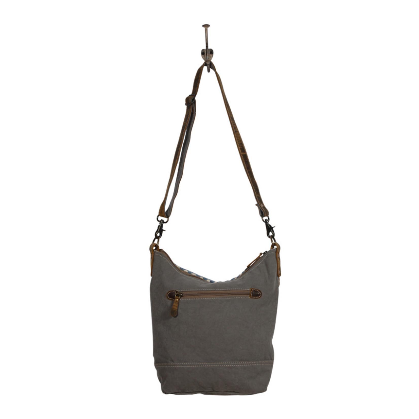 Myra Bags S-2004 Blue Chip Shoulder Bag