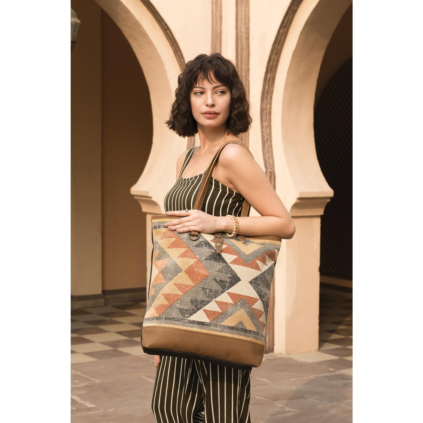 Myra Bags S-2007 Jaggy Tote Bag