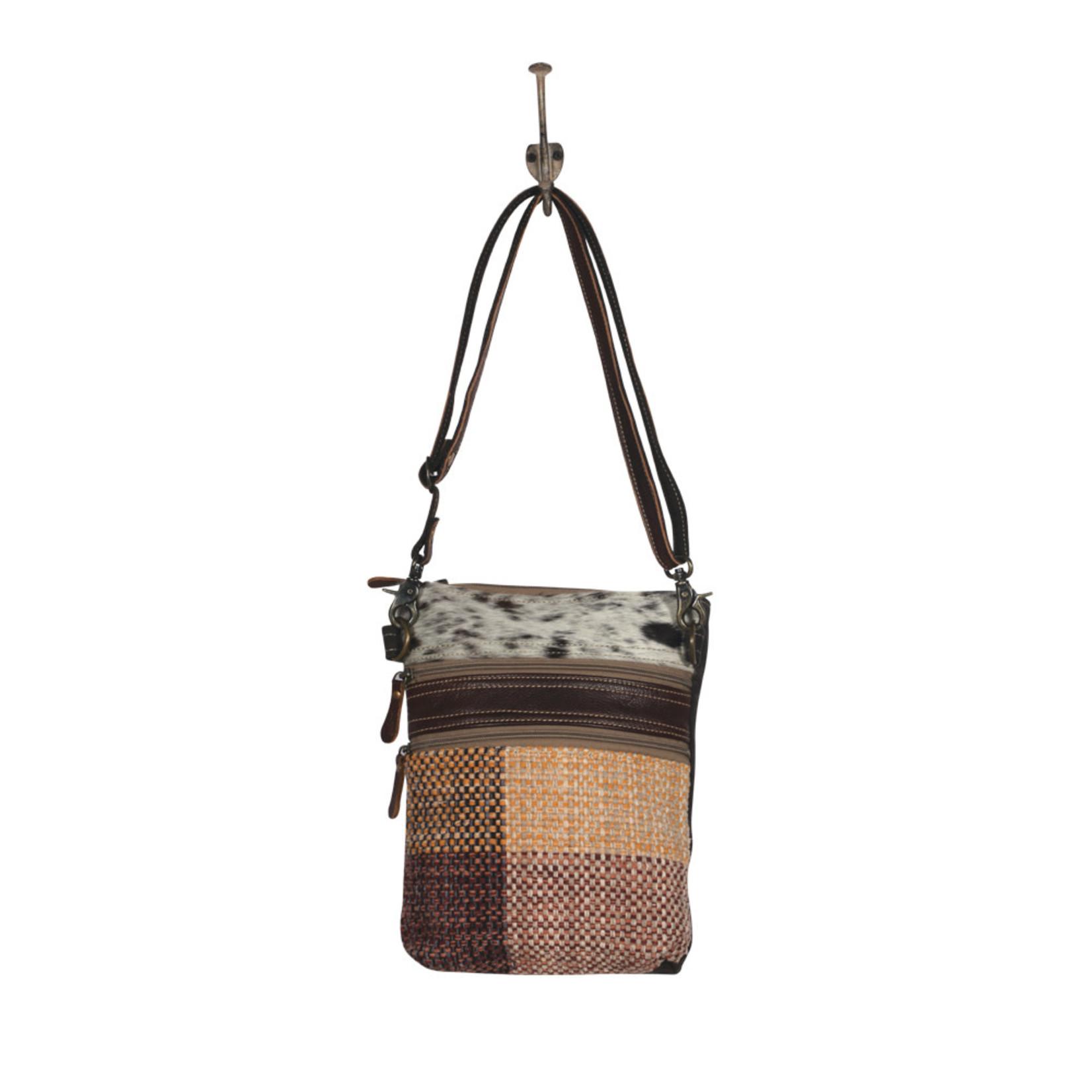 Myra Bags S-2010 Furry One Small & Crossbody Bag