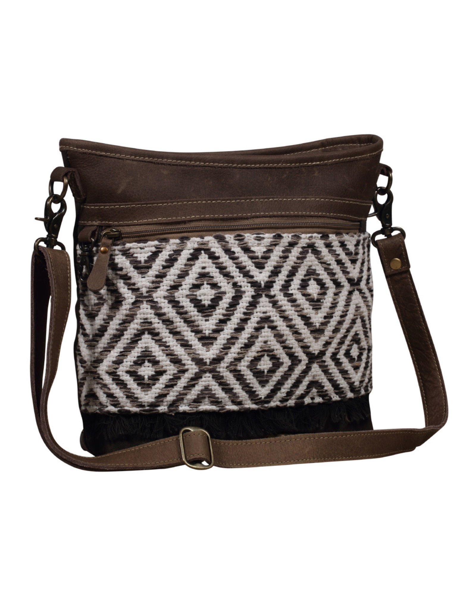 Myra Bags S-2017 Patterned Shoulder Bag