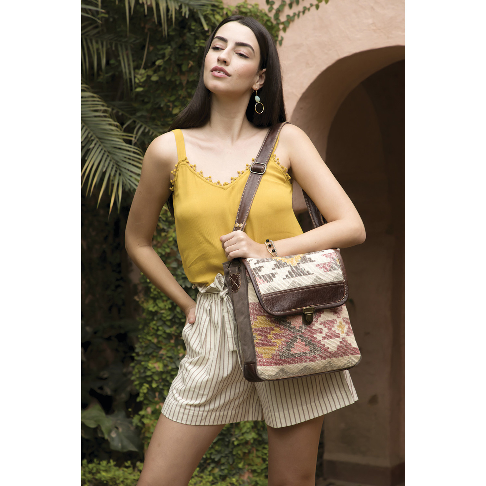 Myra Bags S-2026 Individualist Messenger Bag