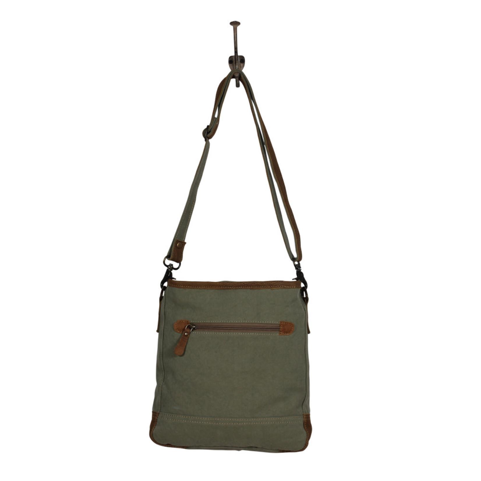 Myra Bags S-2031 Aqua Trail Shoulder Bag