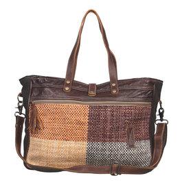 Myra Bags S-2041 Oblong Weekender Bag