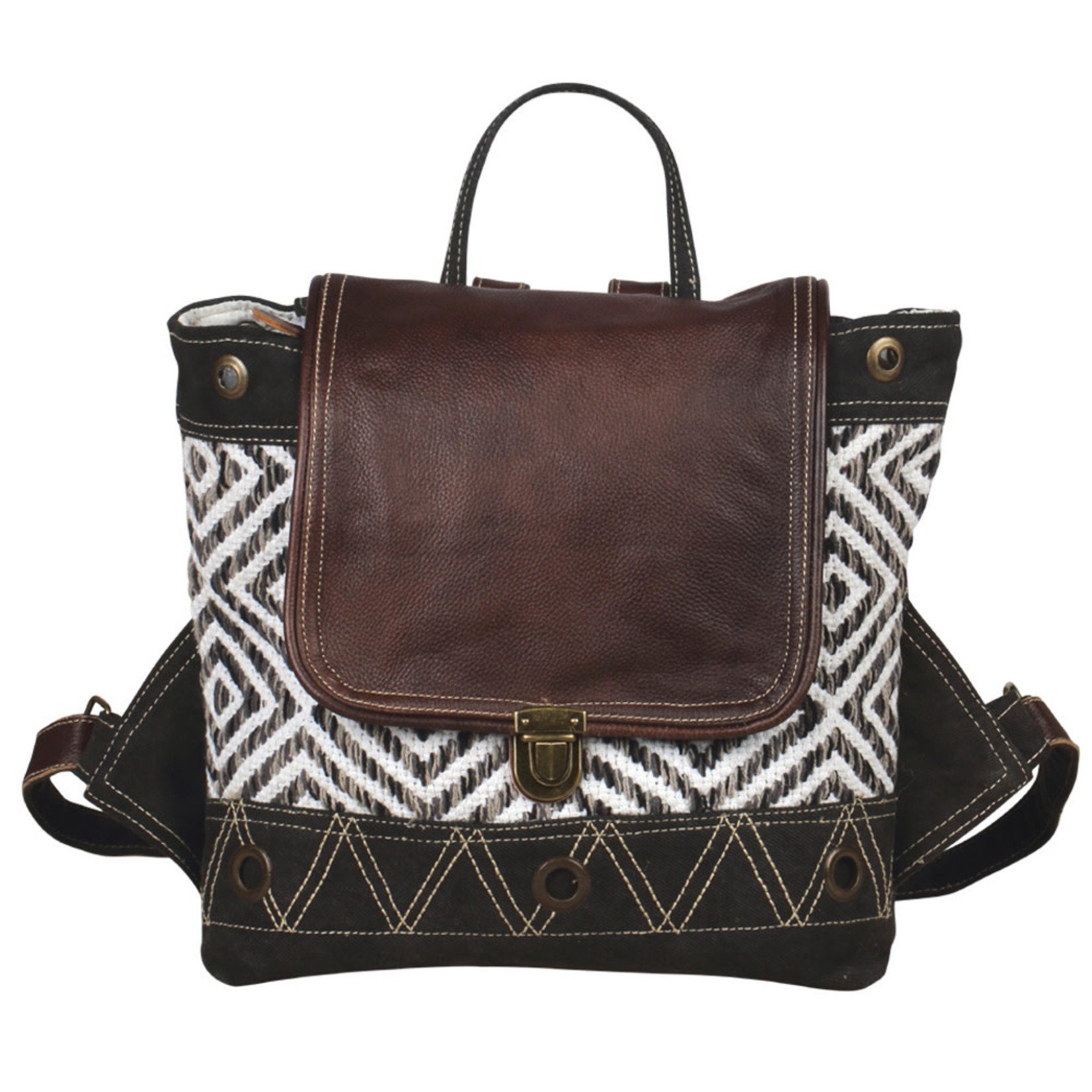 Myra Bags S-2052 Intrigued Backpack Bag