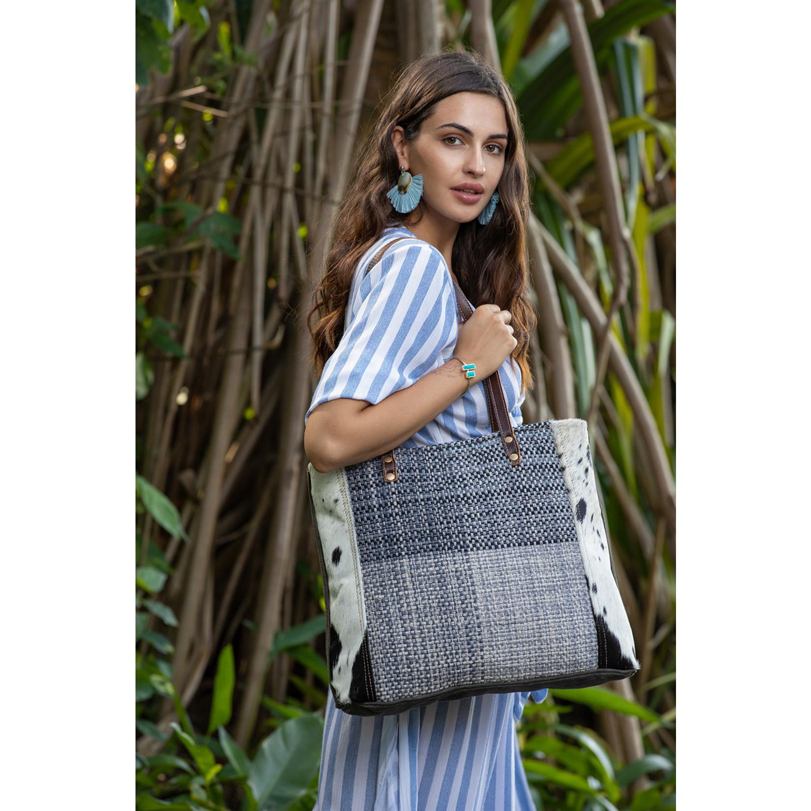 Myra Bags S-2055 Ruffy Tuffy Tote Bag