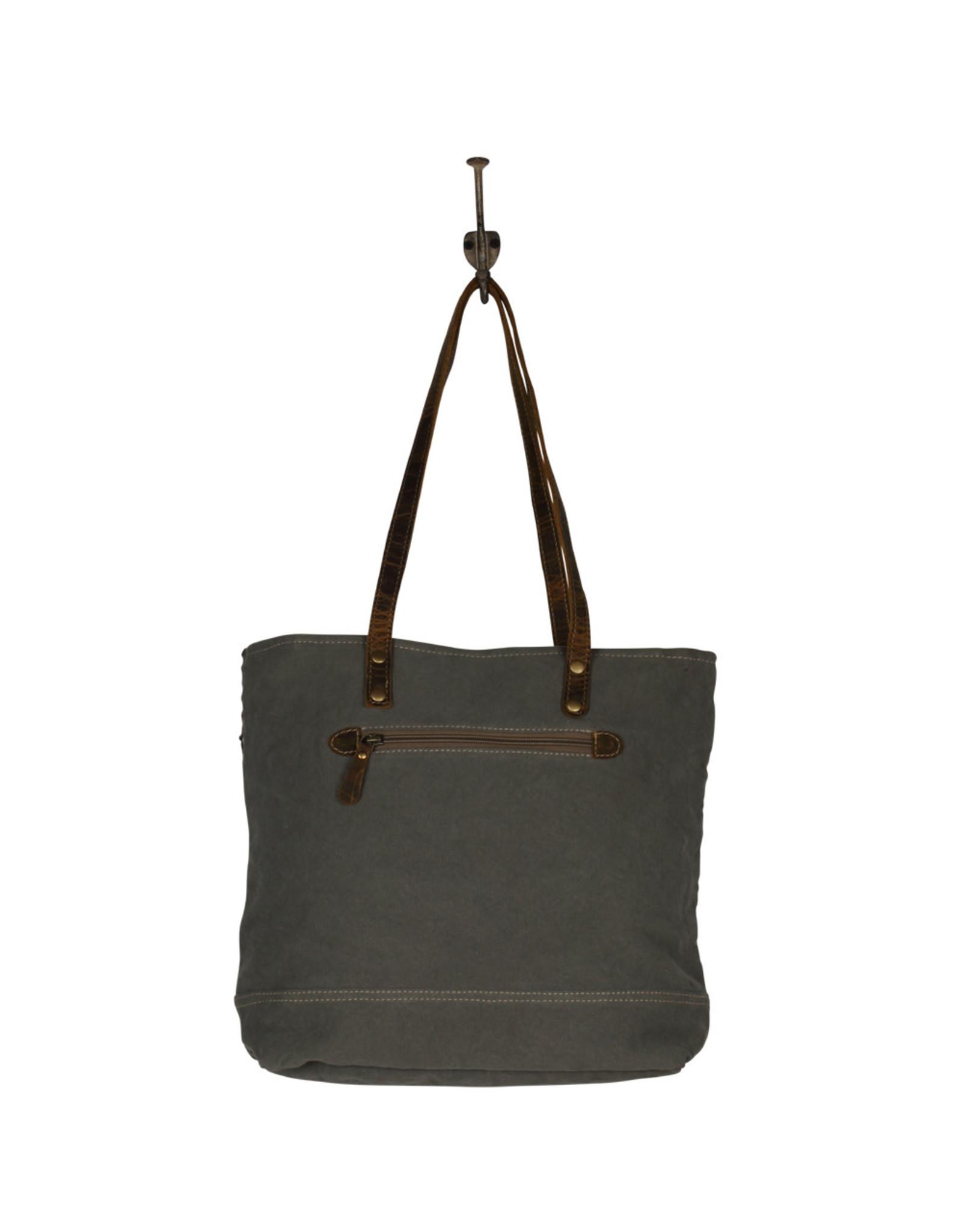 Myra Bags S-2087 Tic Tac Toe Tote Bag