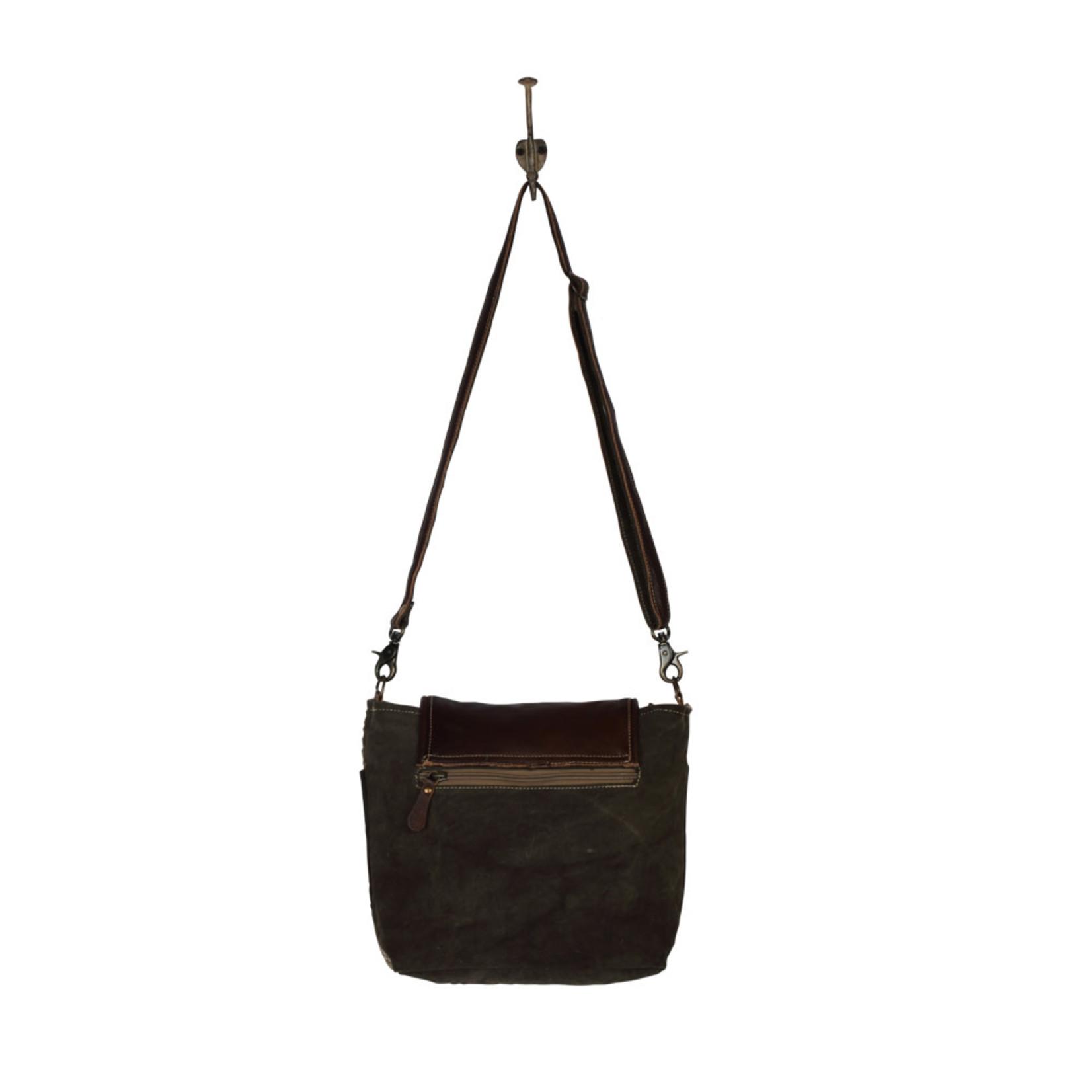 Myra Bags S-2107 Rough Hewn Small & Crossbody Bag