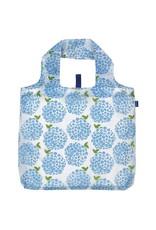 Rock Flower Paper 39-8367Q Hydrangea Blue Blu Bag