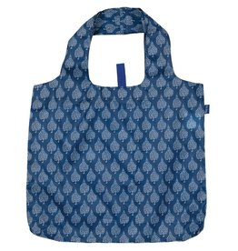 Rock Flower Paper 39-6301A Crete Navy Blu Bag
