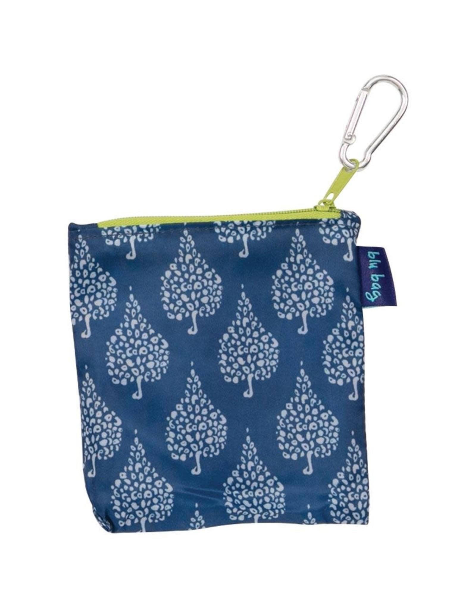 Rock Flower Paper 39-6301A Crete Navy Blu Bag