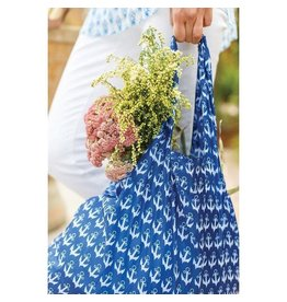 Rock Flower Paper 39-7674A Anchor Navy Blu Bag