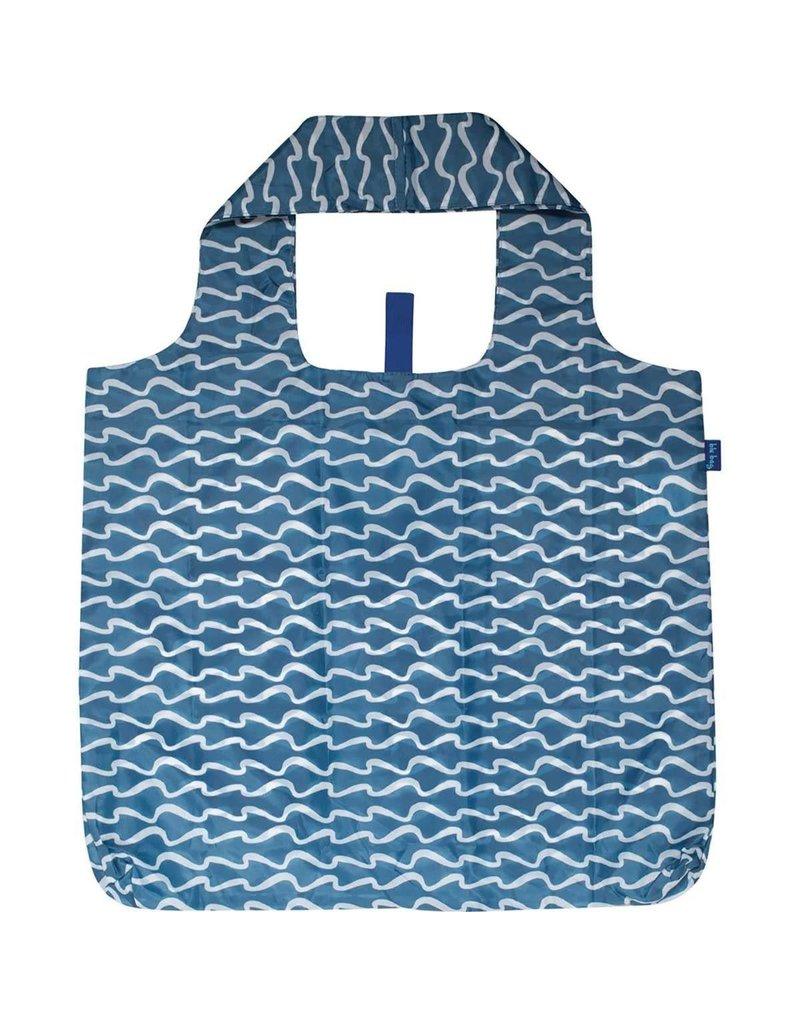 Rock Flower Paper 39-8339Q Surf Blue Blu Bag