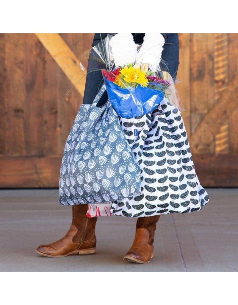 Rock Flower Paper 39-8459K Maisie Grey Blu Bag