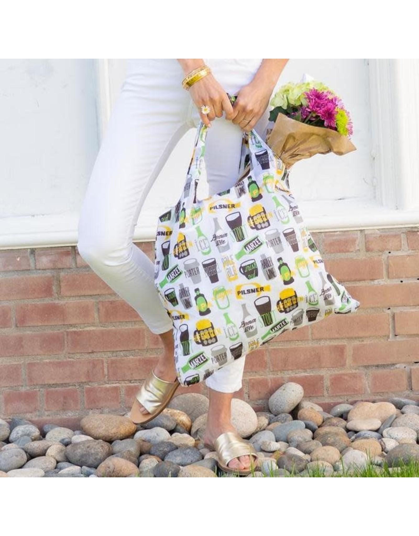 Rock Flower Paper 39-9520 Beer Blu Bag