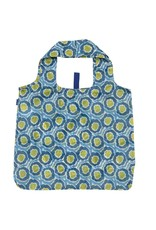Rock Flower Paper 39-8382Q Lana Blue Blu Bag