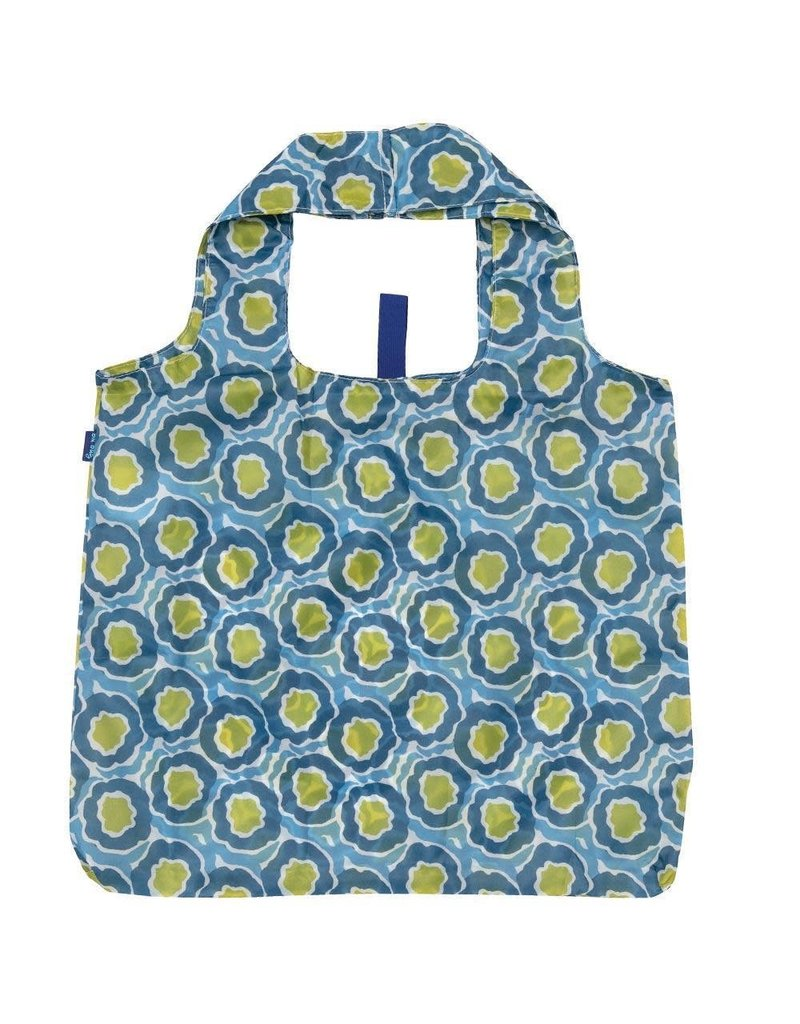 Rock Flower Paper 39-8382Q Lana Blue Blu Bag