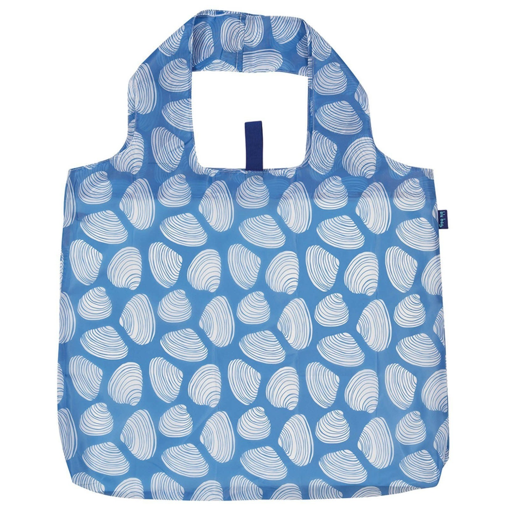 Rock Flower Paper 39-9583Q Clamshells Blue Blu Bag