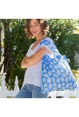 Rock Flower Paper 39-9583Q Clamshells Blue Blu Bag