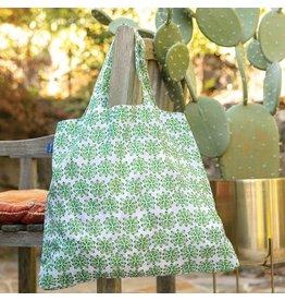 Rock Flower Paper 39-8347D Desert Succulent Blu Bag