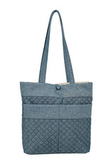 Stephanie Dawn Tote - Chambray