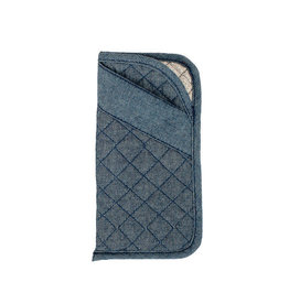 Stephanie Dawn Eyeglass Case - Chambray