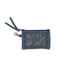 Stephanie Dawn Zip ID & Key - Chambray