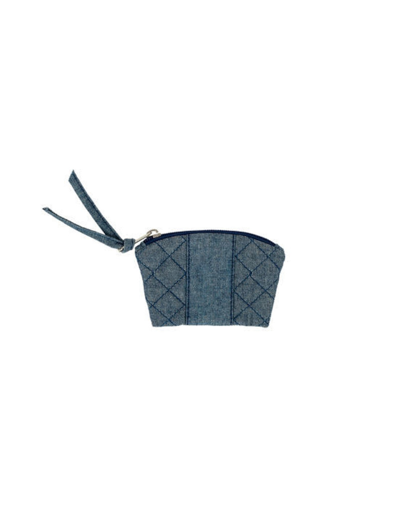 Stephanie Dawn Coin Purse - Chambray